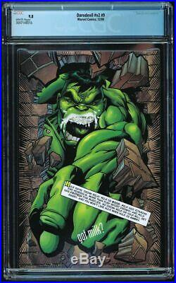 Daredevil #9 CGC 9.8 1st Echo (Maya Lopez) 1999 Marvel Volume 2 intro appearance