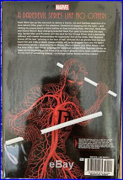 Daredevil Omnibus Vol. 1, 2 by Mark Waid HC Sealed Rare Oop Marvel Hardcover