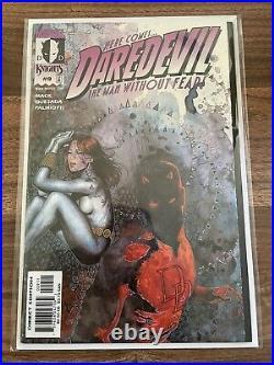 Daredevil vol. 2 #9-10 1st Echo app & cover