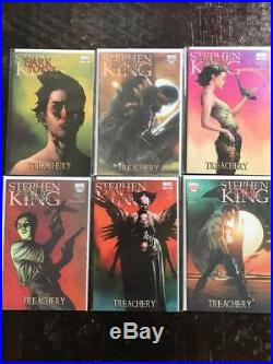 Dark Tower Treachery Comic Book Lot, Marvel, NM, Volume 1, Variants, 12 Issues