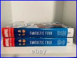 Fantastic Four Omnibus by Jonathan Hickman Vol 1 & 2 Hardcover Marvel OOP