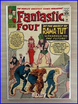 Fantastic Four (Vol 1) #19. FN 1st appearance Kang the Conqueror. Oct 1963