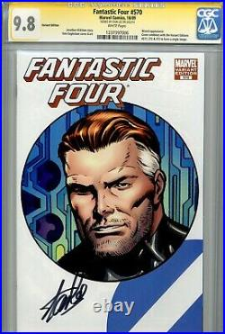 Fantastic Four Vol 1 570 CGC 9.8 SS Stan Lee Silver Surfer Highest on census WP