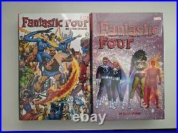 Fantastic Four by John Byrne Omnibus Vol 1 2 Hardcover Set Marvel HC. OOP. Rare