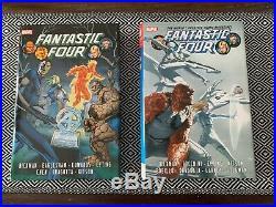 Fantastic Four by Jonathan Hickman HC Omnibus Vol 1 2 Marvel Lot OOP
