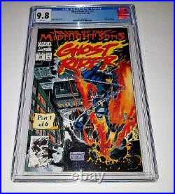 GHOST RIDER #28 (VOL 2) (1992) CGC 9.8 1st App The Midnight Sons / Lilith