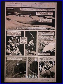 Gene Colan Tomb Of Dracula Magazine (Vol. 2) #2 Pg 1 ORIGINAL ART Marvel COMIC