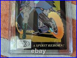 Ghost Rider #1 CGC 9.8 White Pages WP NM/MT Dan Ketch 1990 Vol 2