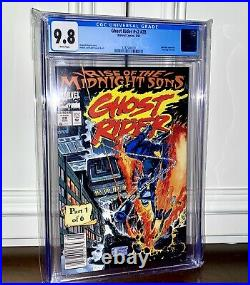 Ghost Rider #28 (vol2) CGC 9.8 NEWSSTAND 1st Appearance Midnight Sons