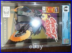 Ghost Rider Vol 2 #1 Cgc 9.8 1990 White Pages 1st App Dan Ketch And Deathwatch