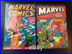 Golden Age Marvel Comics OMNIBUS vol 1-2 Sealed HC New
