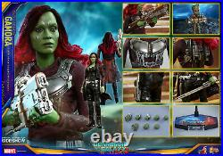 Gotg Vol 2gamorasixth Scale Figuremms483hot Toys / Sideshowmibs