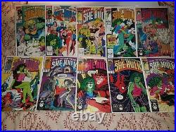 HUGE LOT(125) She-Hulk Sensational full run/vol 1,2,3 VF/NM (1989-2015) DISNEY