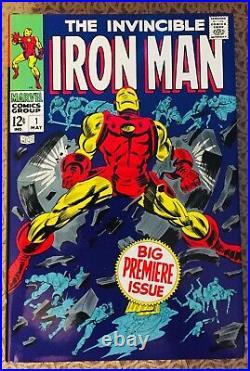 INVINCIBLE IRON MAN Vol 2 Omnibus Hardcover DM Variant OOP Marvel Silver Age