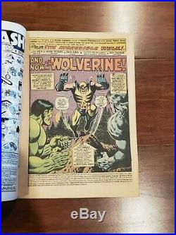 Incredible Hulk #181 Vol 1 Very Nice Higher Grade 1st Wolverine with Marvel Stamp