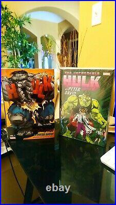 Incredible Hulk By Peter David Vol 1 And 2 Omnibus Hardcover Set Marvel Variant