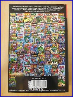 Incredible Hulk Omnibus Vol 1 Marvel 2008 HC 1st Printing