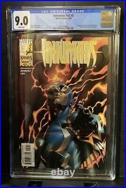 Inhumans Vol 2 #5 CGC 9.0 1st New Black Widow Yelena Belova MCU Marvel