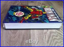 Iron Man Omnibus Vol 2 Marvel HC Gene Colan Variant Factory Sealed