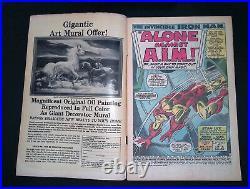 Iron Man (Vol. 1) #1 Silver Age Marvel Comics VG