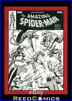 JOHN ROMITA AMAZING SPIDER-MAN VOLUME 2 ARTIST EDITION HARDCOVER New Hardback