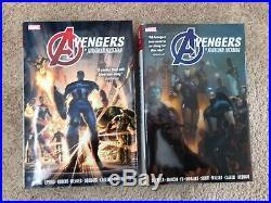 Jonathan Hickman Avengers Omnibus Vol 1-2 Marvel Comics