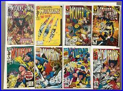 Lot Of 90 Wolverine Vol 2 1988 #1-90 Complete Run Marvel Comics