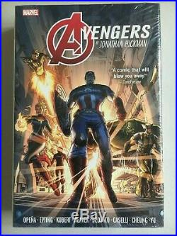 MARVEL Avengers Omnibus by Hickman Vol. 1 HC Hardcover NM, NEW & SEALED