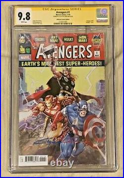 MARVEL Avengers (Vol. 8) #1 (1/2019) Signed By Clayton Crain CGC 9.8 White Pages