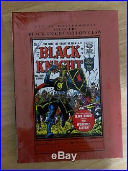 MARVEL MASTERWORKS BLACK KNIGHT YELLOW CLAW Vol. 1 ATLAS Hardcover SEALED NEW