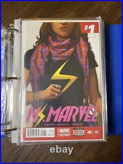 MS MARVEL 1-19 2014 Vol 3 Kamala Khan LOT 1st 2nd Variants KEY