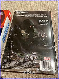 Marvel Avengers by Jonathan Hickman Omnibus Lot Volume 1 & 2 Hardcover OOP