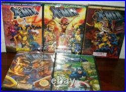Marvel Comic Book X-Men Volume 1-5 Collection (DVD) Brand New