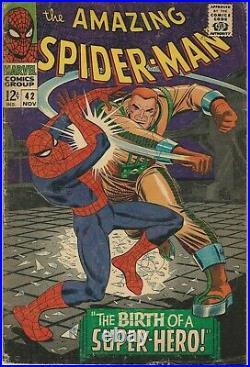 Marvel Comics Amazing Spider-Man Vol 1(1963 Series) # 42 VG 4.0 1st Mary Jane