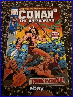 Marvel Comics CONAN OMNIBUS Volume #1 2 3 4 5 HC Global Shipping