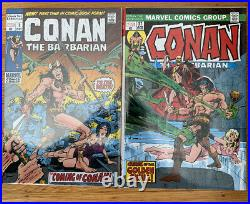 Marvel Comics CONAN OMNIBUS Volume #1 2 3 4 5 HC Global Shipping 4384 Pages