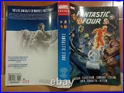 Marvel Comics FANTASTIC FOUR BY JONATHAN HICKMAN OMNIBUS VOLS 1 & 2 HC SET