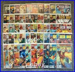 Marvel Comics Iron Man vol. 3 (1998) #1-50 & More Complete Run Job Lot Set