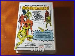 Marvel Comics Marvel Horror Omnibus Vol. 1 Hc Sealed Oop Rare 2019 Htf