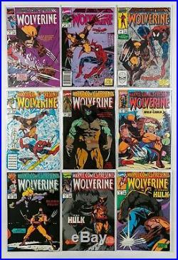Marvel Comics Presents Lot of 120 books #1-155 (1988 Vol. 1) Wolverine, Venom NM