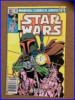 Marvel Comics Star Wars 1st Print Vol 1 Complete Run 1 107 + Annual Fine Up