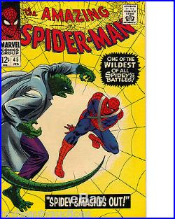 Marvel Comics The Amazing Spider-Man Volume 1 # 45. Feb, 1967. NM / Mint