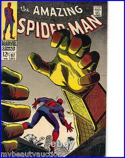 Marvel Comics The Amazing Spider-Man Volume 1 # 67. Dec, 1968. VF/NM