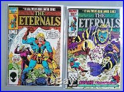 Marvel Comics The Eternals Vol2 1-12 Full Set Simonson Buscema 1985/86 New Movie