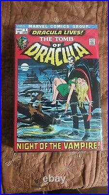 Marvel Comics The Tomb Of Dracula Omnibus Vol. 1 Hc Sealed Oop Rare