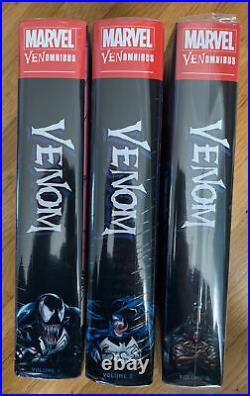 Marvel Comics VENOM OMNIBUS Volume #1 2 3 Hard Cover Global Shipping Venomnibus