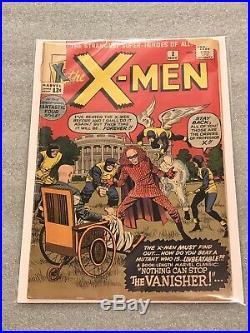 Marvel Comics X-Men #2 11/63 1963 Vol 1 Silver Age 1st Vanisher! Affordable Key