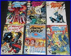 Marvel Copper Age GHOST RIDER VOL. 3 270pc High Grade Comic Lot VF to MT Dist