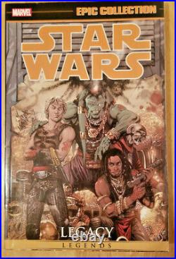 Marvel Epic Collection STAR WARS LEGACY VOL 1-3 MARVEL TPB 3 BOOK LOT