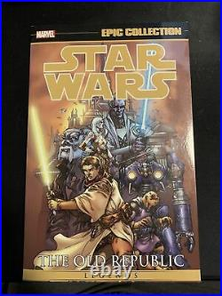 Marvel Epic Collection STAR WARS THE OLD REPUBLIC VOL 1MARVEL TPB NEW RARE OOP